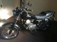 Yamaha Sr 250 can be Reg as 125 May swap motorcycles or van only