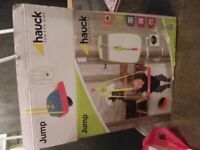 Hauck Jump Jungle Fun Baby Door Bouncer Blue/Red/Yellow Suspension
