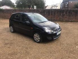 07/07 Ford Fiesta 1.25 Style Climate 5DR BLACK