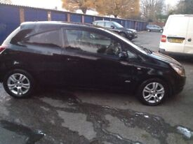 Vauxhall Corsavan with half leather front & rear seats