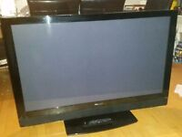 """50"""" Pioneer Plasma TV PDP 507XD with speakers and swivel stand"""
