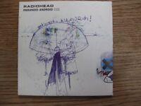 Radiohead, Paranoid Android UK Singles, CD1 & CD2