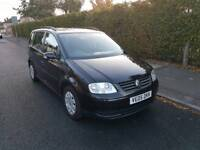 Touran 1.6L 5DR 2005 long mot full service history 7 seater
