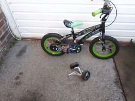 REDUCED!! 14 inch Boys bike ideal as Christmas present