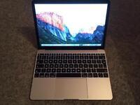 "Macbook 12"" 256gb SSD USB-C 2015 Silver"