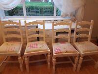 Beautiful Cath Kidston Shabby Chic dining chairs