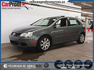 2008 Volkswagen Rabbit 5-Door Comfortline, SUNROOF, MAGS