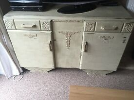 Shabby chic Side unit/ living room sideboard