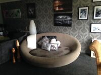 Large cuddle sofa very unique *price reduced for quick sale*