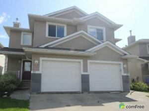 $297,900 - Semi-detached for sale in Edmonton - Southwest
