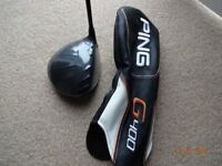 Ping G400 LST driver head only