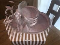 Wedding hat - Joyce Young - boxed and like new