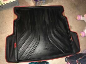 Genuine BMW 3 series touring boot liner