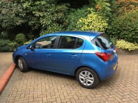 Vauxhall corsa 1.4l, almost new 1300 miles one elderly owner