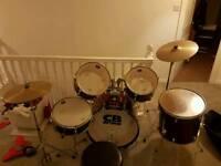 Cb drum kit hardly used