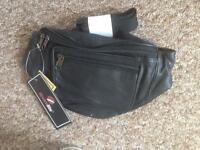 New leather bum bag