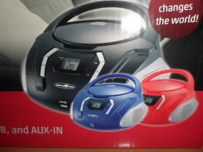 CDR2250U blau Boombox Reflexion CD/Radio-System