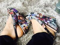 Comic book shoes - CUSTOM MADE TO ORDER