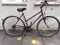 Ladies Raleigh Pioneer Hybrid Road Bike