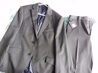 New Suit - Jacket 40S, Trousers 32S.