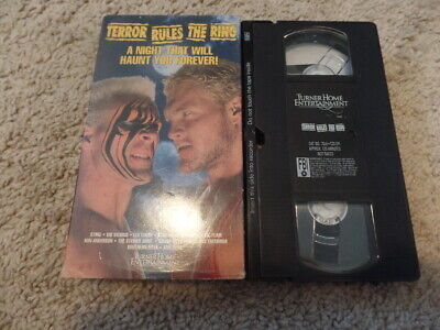 wcw HALLOWEEN HAVOC 1990 TERROR RULES THE RING vhs wrestling