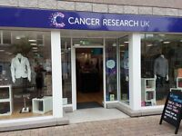 Cancer Research UK Inverurie is looking for you!