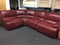 NEW / EX DISPLAY LazyBoy Guvnor Corner Recliner Sofa (Left or Right Corner)