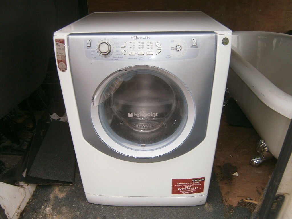Hotpoint Washing Machine Spares hotpoint aqualtis washing machine spares or repairs | in yeovil