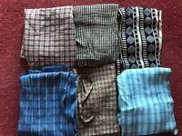 Maxi length Wrap over skirts