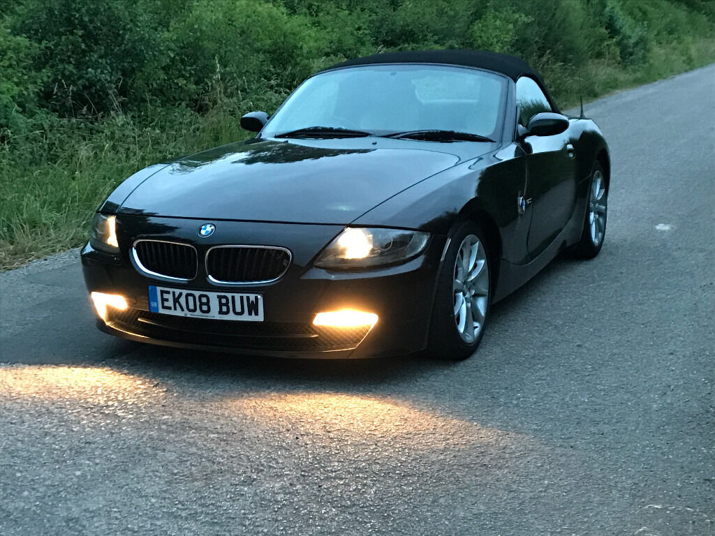 2008 bmw z4 2.0i exclusive black 150 bhp | in keyworth