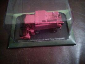 Tractor model also combine