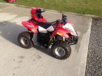 Polaris outlaw 50cc kids quad, ( not Suzuki,Honda, Yamaha)