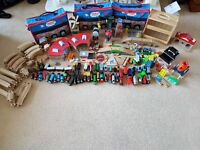 Thomas The Tank wooden collection!