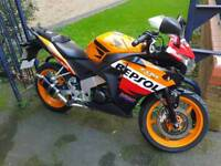 Honda cbr 125r 2013 swap for a crosser or sale