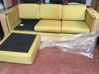 Habitat PORTO 3 Seater Chaise Sofa