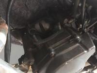 1992 Rg125 fn engine, needs piston, rgv125, rg 125