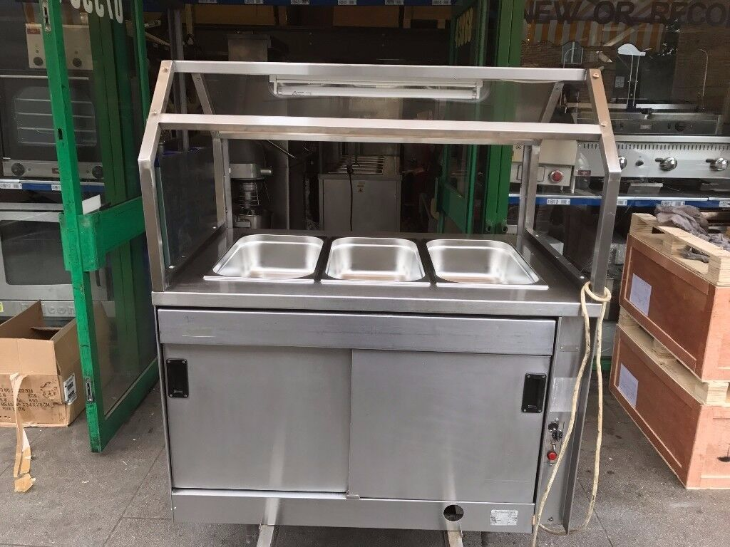 CATERING COMMERCIAL FAST FOOD BAIN MARIE CAFE KEBAB CHICKEN RESTAURANT BAR SHOP TAKE AWAY