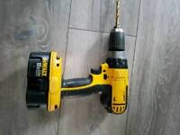 Dewalt drill battery flat no charger