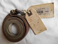 Original, good quality, brand new with tags All Saints leather belt waist size (M) 32-34