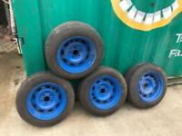 """Vauxhall Astra / Omega 15"""" banded stew wheels"""