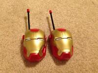 Ironman walkie-talkies