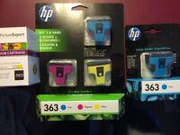 HP Photosmart printer 363 ink cartridges for sale