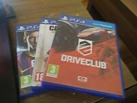 PS4 GAMES cheap (fifa 14, Call of Duty AW, Drive Club)