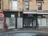 FULLY REFURBISHED RETAIL UNIT TO LET, CATHCART ROAD, GOVANHILL £150.00PW