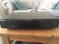 Sony DVD and CD player model S325