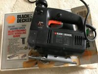 BLACK & DECKER ELECTRONIC AUTO SCROLLING SAW - FULL WORKING ORDER