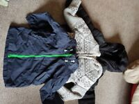 Boys coats age 3-4