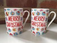 Cath Kidston Christmas Mugs