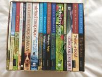 Michael morpurgo huge book collection in box