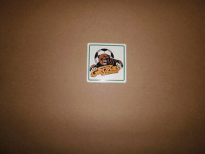CISL San Jose Grizzlies Vintage Defunct Soccer Sticker